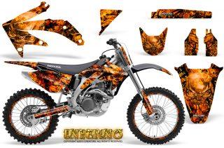Honda CRF 450R 05 08 CreatorX Graphics Kit Inferno Orange NP Rims 320x211 - Can-Am Maverick X3 TribalX Custom Version Graphics