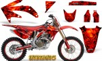 Honda CRF 450R 05 08 CreatorX Graphics Kit Inferno Red NP Rims 150x90 - Honda CRF450R 2002-2012 Graphics