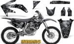 Honda CRF 450R 05 08 CreatorX Graphics Kit Inferno Silver NP Rims 150x90 - Honda CRF450R 2002-2012 Graphics