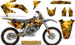 Honda CRF 450R 05 08 CreatorX Graphics Kit Inferno Yellow NP Rims 150x90 - Honda CRF450R 2002-2012 Graphics