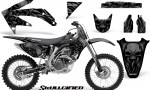 Honda CRF 450R 05 08 CreatorX Graphics Kit Skullcified Black NP Rims 150x90 - Honda CRF450R 2002-2012 Graphics