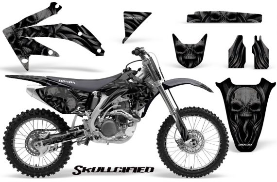 Honda CRF 450R 05 08 CreatorX Graphics Kit Skullcified Black NP Rims 570x376 - Honda CRF450R 2002-2012 Graphics