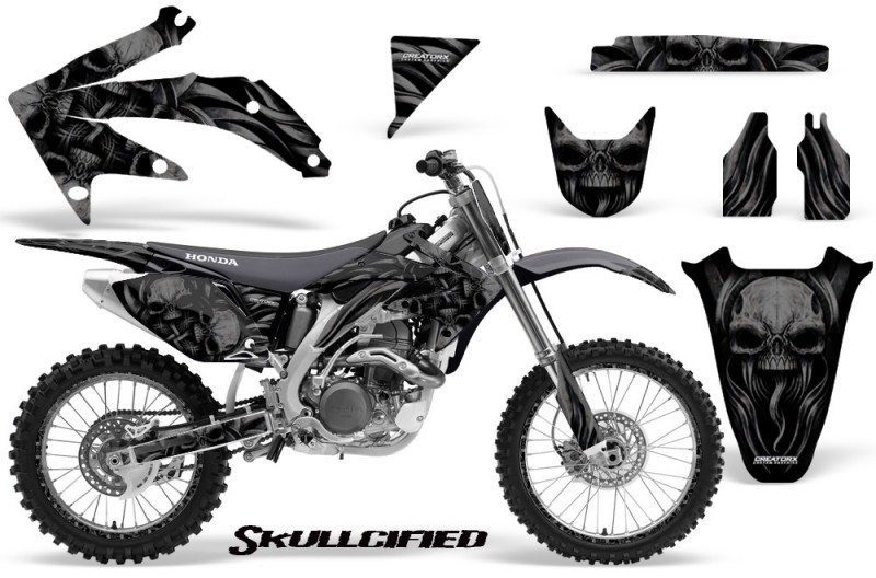 Honda-CRF-450R-05-08-CreatorX-Graphics-Kit-Skullcified-Black-NP-Rims
