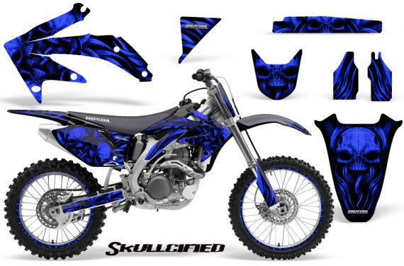 Honda CRF 450R 05 08 CreatorX Graphics Kit Skullcified Blue NP Rims 570x376 - Honda CRF450R 2002-2012 Graphics