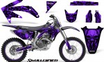 Honda CRF 450R 05 08 CreatorX Graphics Kit Skullcified Purple NP Rims 150x90 - Honda CRF450R 2002-2012 Graphics