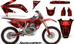 Honda CRF 450R 05 08 CreatorX Graphics Kit Skullcified Red NP Rims 150x90 - Honda CRF450R 2002-2012 Graphics