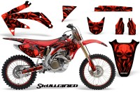 Honda-CRF-450R-05-08-CreatorX-Graphics-Kit-Skullcified-Red-NP-Rims