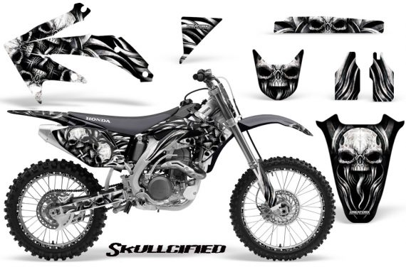 Honda CRF 450R 05 08 CreatorX Graphics Kit Skullcified Silver NP Rims 570x376 - Honda CRF450R 2002-2012 Graphics