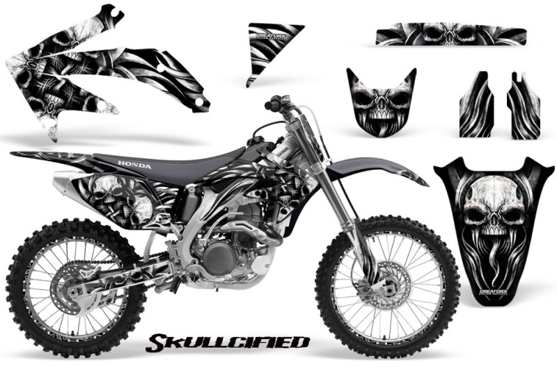 Honda-CRF-450R-05-08-CreatorX-Graphics-Kit-Skullcified-Silver-NP-Rims