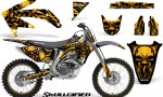 Honda CRF 450R 05 08 CreatorX Graphics Kit Skullcified Yellow NP Rims 150x90 - Honda CRF450R 2002-2012 Graphics