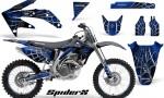 Honda CRF 450R 05 08 CreatorX Graphics Kit SpiderX Blue NP Rims 150x90 - Honda CRF450R 2002-2012 Graphics