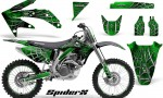 Honda CRF 450R 05 08 CreatorX Graphics Kit SpiderX Green NP Rims 150x90 - Honda CRF450R 2002-2012 Graphics