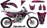 Honda CRF 450R 05 08 CreatorX Graphics Kit SpiderX Pink NP Rims 150x90 - Honda CRF450R 2002-2012 Graphics