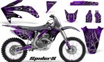 Honda CRF 450R 05 08 CreatorX Graphics Kit SpiderX Purple NP Rims 150x90 - Honda CRF450R 2002-2012 Graphics