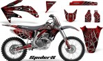 Honda CRF 450R 05 08 CreatorX Graphics Kit SpiderX Red BB NP 150x90 - Honda CRF450R 2002-2012 Graphics