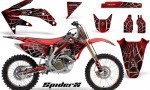 Honda CRF 450R 05 08 CreatorX Graphics Kit SpiderX Red NP Rims 150x90 - Honda CRF450R 2002-2012 Graphics