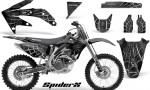 Honda CRF 450R 05 08 CreatorX Graphics Kit SpiderX Silver NP Rims 150x90 - Honda CRF450R 2002-2012 Graphics