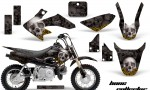 Honda CRF 50 AMR Graphics Kit BC BYrose 150x90 - Honda CRF50 2004-2015 Graphics