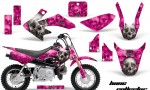 Honda CRF 50 AMR Graphics Kit BC P 150x90 - Honda CRF50 2004-2015 Graphics
