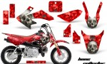 Honda CRF 50 AMR Graphics Kit BC R 150x90 - Honda CRF50 2004-2015 Graphics