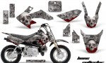 Honda CRF 50 AMR Graphics Kit BC S 150x90 - Honda CRF50 2004-2015 Graphics