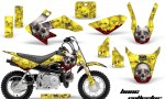 Honda CRF 50 AMR Graphics Kit BC Y 150x90 - Honda CRF50 2004-2015 Graphics