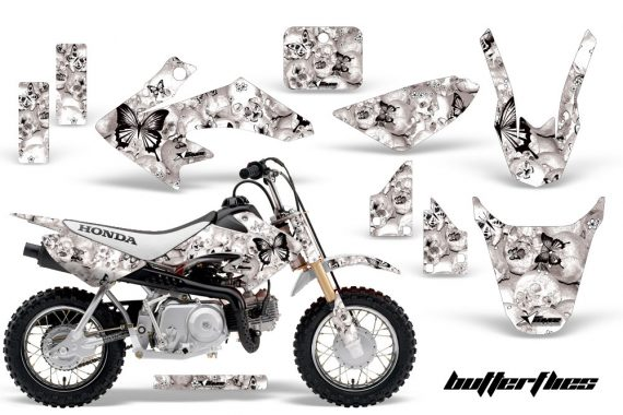Honda CRF 50 AMR Graphics Kit BF BW 570x380 - Honda CRF50 2004-2015 Graphics