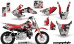 Honda CRF 50 AMR Graphics Kit CP R 150x90 - Honda CRF50 2004-2015 Graphics