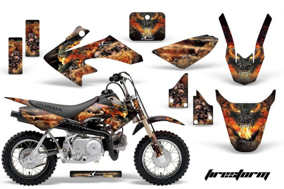 Honda CRF 50 AMR Graphics Kit FS B 570x380 - Honda CRF50 2004-2015 Graphics