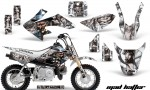 Honda CRF 50 AMR Graphics Kit MH WS 150x90 - Honda CRF50 2004-2015 Graphics