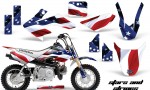 Honda CRF 50 AMR Graphics Kit S S 150x90 - Honda CRF50 2004-2015 Graphics