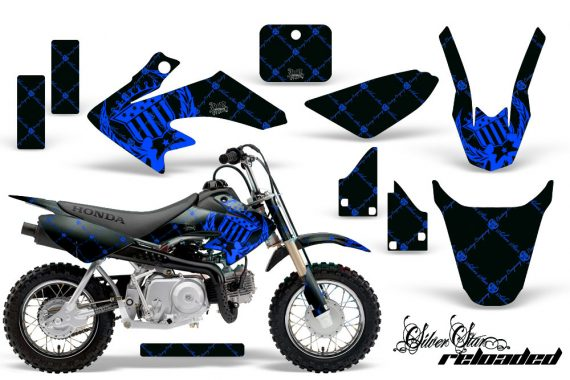 Honda CRF 50 AMR Graphics Kit SSR BLB 570x380 - Honda CRF50 2004-2015 Graphics