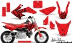 Honda CRF 50 AMR Graphics Kit SSR BR 150x90 - Honda CRF50 2004-2015 Graphics