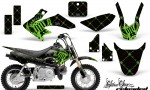 Honda CRF 50 AMR Graphics Kit SSR GB 150x90 - Honda CRF50 2004-2015 Graphics