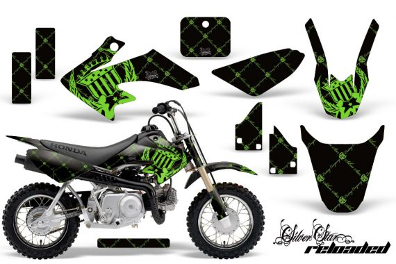 Honda CRF 50 AMR Graphics Kit SSR GB 570x380 - Honda CRF50 2004-2015 Graphics