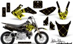 Honda CRF 50 AMR Graphics Kit SSR YB 150x90 - Honda CRF50 2004-2015 Graphics