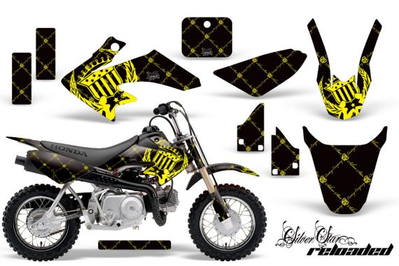 Honda CRF 50 AMR Graphics Kit SSR YB 570x380 - Honda CRF50 2004-2015 Graphics