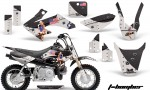 Honda CRF 50 AMR Graphics Kit TB B 150x90 - Honda CRF50 2004-2015 Graphics