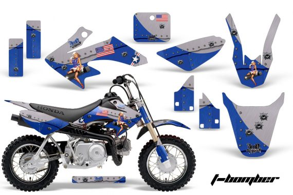 Honda CRF 50 AMR Graphics Kit TB BL 570x380 - Honda CRF50 2004-2015 Graphics