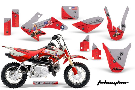 Honda CRF 50 AMR Graphics Kit TB R 570x380 - Honda CRF50 2004-2015 Graphics