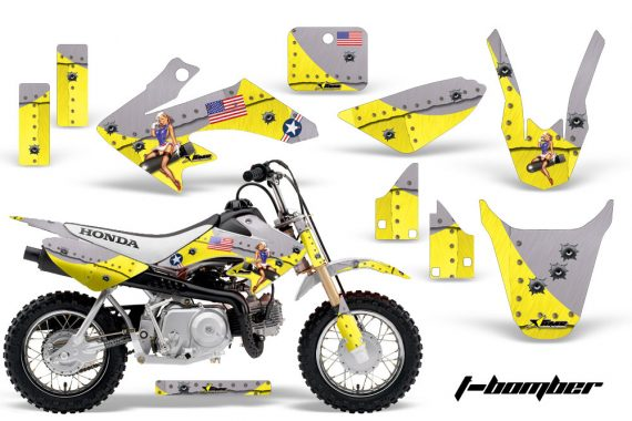 Honda CRF 50 AMR Graphics Kit TB Y 570x380 - Honda CRF50 2004-2015 Graphics