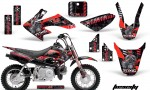 Honda CRF 50 AMR Graphics Kit TOX RB 150x90 - Honda CRF50 2004-2015 Graphics