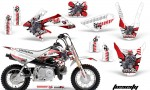 Honda CRF 50 AMR Graphics Kit TOX RW 150x90 - Honda CRF50 2004-2015 Graphics