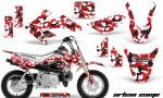 Honda CRF 50 AMR Graphics Kit UC RW 150x90 - Honda CRF50 2004-2015 Graphics