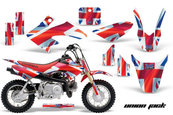 Honda CRF 50 AMR Graphics Kit UJ 570x380 - Honda CRF50 2004-2015 Graphics
