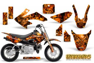 Honda CRF 50 Graphics Kit Inferno Orange 320x213 - Honda CRF50 2004-2015 Graphics
