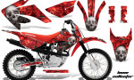 Honda CRF80 CRF100 Graphics 2011-2012