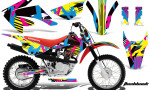 Honda CRF 80 100 2011 AMR Graphics Kit Flashback CK 150x90 - Honda CRF80 CRF100 2011-2015 Graphics