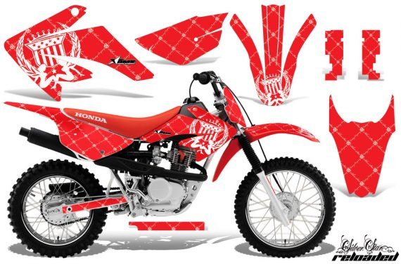 Honda CRF 80 100 2011 AMR Graphics Kit R WhiteRedBG CK 570x376 - Honda CRF80 CRF100 2011-2015 Graphics