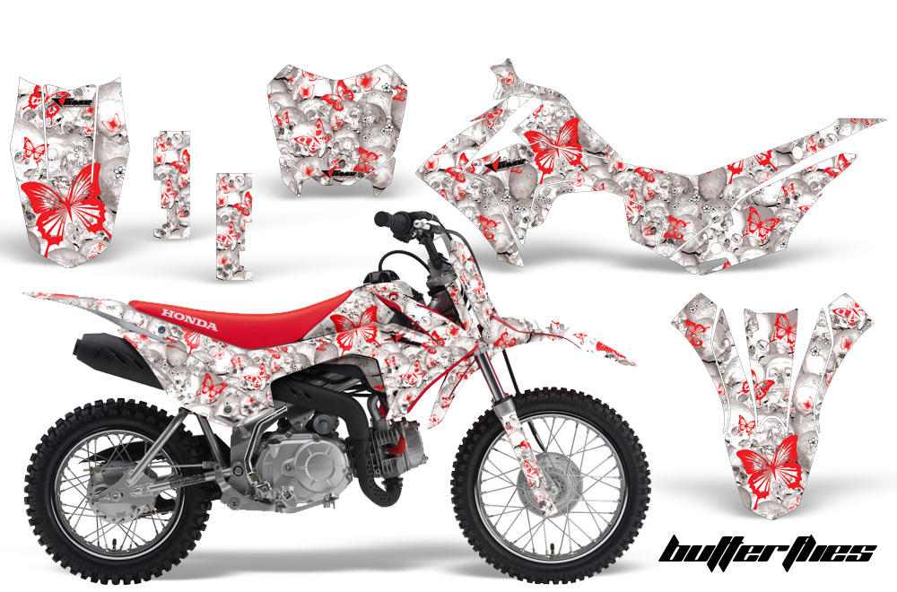 Honda CRF F Graphics CREATORX Graphics MX ATV - Decal graphics for dirt bikes